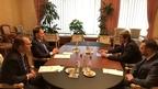 Алексей Гордеев провёл рабочую встречу с заместителем генерального директора – региональным представителем Продовольственной и сельскохозяйственной организации ООН для стран Европы и Центральной Азии Владимиром Рахманиным