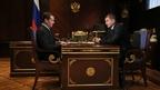 Дмитрий Медведев встретился с губернатором Волгоградской области Андреем Бочаровым