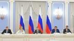 Встреча Дмитрия Медведева с членами Совета палаты Совета Федерации Федерального Собрания