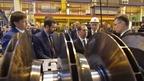 Дмитрий Медведев посетил Невский завод в Санкт-Петербурге