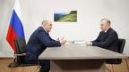 Встреча Михаила Мишустина с Главой  Республики Адыгея Муратом Кумпиловым