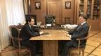Алексей Гордеев провёл рабочую встречу с губернатором Мурманской области Андреем Чибисом