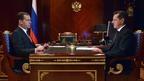 Рабочая встреча Дмитрия Медведева с губернатором Астраханской области Александром Жилкиным