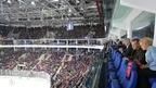 Дмитрий Медведев приехал на решающий матч финала Западной конференции КХЛ между ЦСКА и СКА