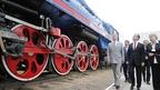Дмитрий Медведев посетил железнодорожную станцию Подмосковная