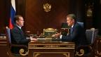 Встреча Дмитрия Медведева с временно исполняющим обязанности главы Республики Башкортостан Радием Хабировым