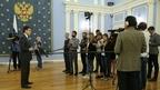 Брифинг Михаила Котюкова по завершении заседания президиума Совета при Президенте Российской Федерации по стратегическому развитию и национальным проектам