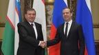 Беседа Дмитрия Медведева с Президентом Республики Узбекистан Шавкатом Мирзиёевым