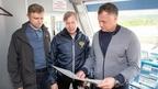Марат Хуснуллин проводит осмотр объектов строительства Восточного полигона
