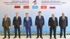 Главы делегаций – участников заседания Евразийского межправительственного совета в узком составе