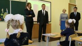 Посещение средней общеобразовательной школы №34 в Подольске