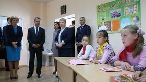 Посещение общеобразовательной школы имени Т.К.Агузарова