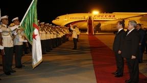Визит Дмитрия Медведева в Алжир. Церемония встречи