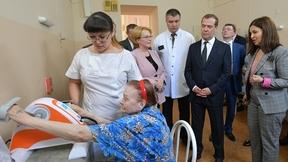 Посещение госпиталя для ветеранов войн в Ростове-на-Дону