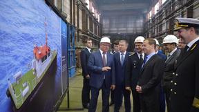 Посещение Онежского судостроительно-судоремонтного завода