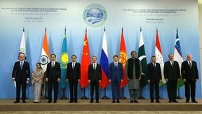Совместное фотографирование глав делегаций государств-членов ШОС