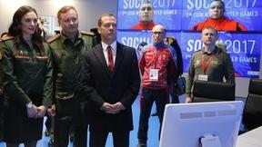 С двукратной олимпийской чемпионкой Еленой Исинбаевой в ситуационном центре зимних Всемирных военных игр 2017 года
