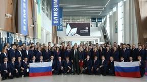 Встреча с членами национальной сборной России – участниками 45-го мирового чемпионата по профессиональному мастерству по стандартам WorldSkills