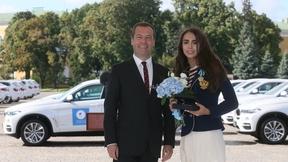 С чемпионкой Игр XXXI Олимпиады в Рио-де-Жанейро по художественной гимнастике Маргаритой Мамун