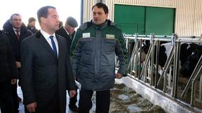 Посещение молочно-товарной фермы агрохолдинга «Кубань»