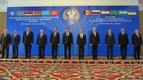 Совместное фотографирование глав делегаций государств – участников СНГ