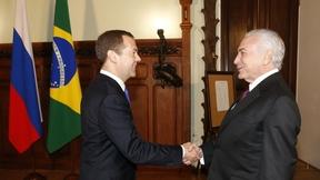 Встреча с Президентом Бразилии Мишелом Темером