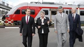 Посещение железнодорожной станции Подмосковная
