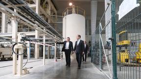 Посещение завода автоклавного газобетона «Аэроблок»