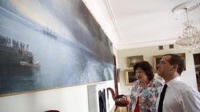Посещение картинной галереи имени И.К.Айвазовского