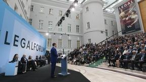Выступление Дмитрия Медведева на VIII Петербургском международном юридическом форуме