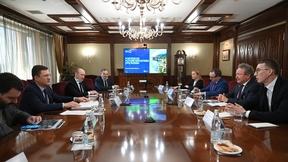 Встреча Александра Новака  с Председателем совета директоров австралийского компании Fortescue Metals Group Эндрю Форестом