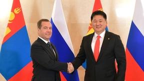 Встреча с Премьер-министром Монголии Ухнагийн Хурэлсухом