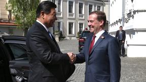 Встреча Дмитрия Медведева с Председателем Китайской Народной Республики Си Цзиньпином