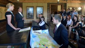 Посещение урока для учащихся школ Рязанской области в музее-заповеднике С.А.Есенина