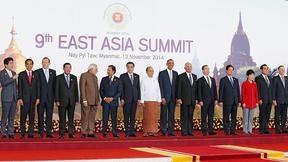 Главы делегаций стран – участниц девятого Восточноазиатского саммита