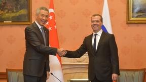 Беседа с  Премьер-министром Республики Сингапур Ли Сянь Луном