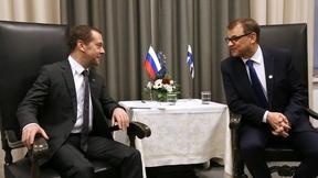 Встреча с Премьер-министром Финляндии Юхой Сипилей