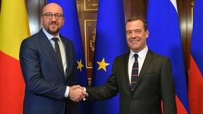 Беседа с Премьер-министром Королевства Бельгии Шарлем Мишелем