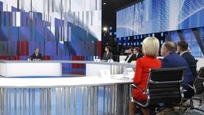 «Разговор с Дмитрием Медведевым». Интервью российским телеканалам