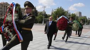 Михаил Мишустин принял участие в церемонии возложения венков к Монументу Победы