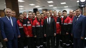 С рабочими завода ООО «ЛУКОЙЛ-Волгограднефтепереработка»