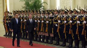 Церемония официальной встречи Дмитрия Медведева Премьером Госсовета КНР Ли Кэцяном