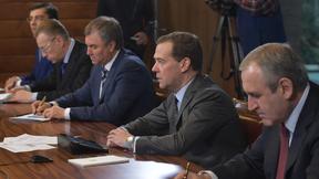 Встреча с руководством «Единой России» и представителями фракции партии в Государственной Думе