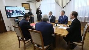 Церемония запуска установки комплексной подготовки газа Якутской топливно-энергетической компании