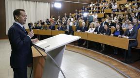 Встреча со студентами Российского государственного университета нефти и газа им. И.М.Губкина