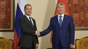 Встреча с Президентом Киргизской Республики Алмазбеком Атамбаевым