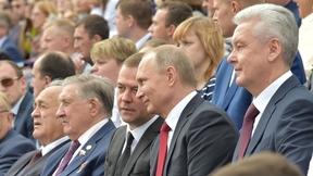 На концерте по случаю Дня города Москвы