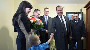 Посещение жилого комплекса для сотрудников корпорации «Тактическое ракетное вооружение»