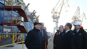 Посещение АО «Балтийский завод». Осмотр атомного ледокола «Арктика»