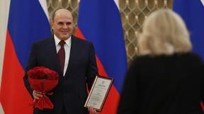 Поздравление лауреатов премий Правительства в области науки и техники